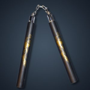 Black Foam Nunchaku