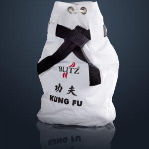 White Kung Fu Duffle Bag